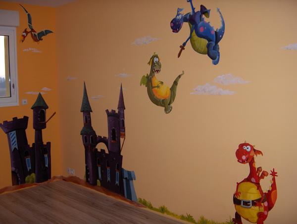 fresques murales rocles en loz re 48 marie no lle lapouge. Black Bedroom Furniture Sets. Home Design Ideas